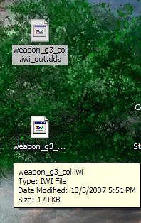 Devil Horns and Joysticks: Cod4 Gun Skinning guide