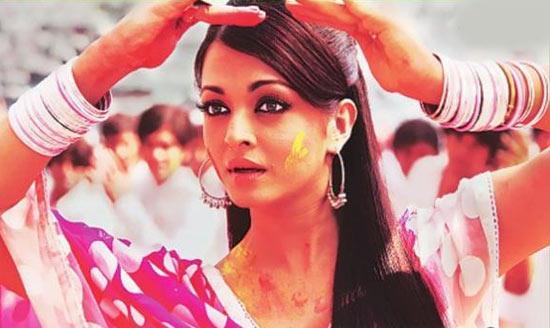 Happy Holi Images, Pictures, Photos of Aishwarya Rai