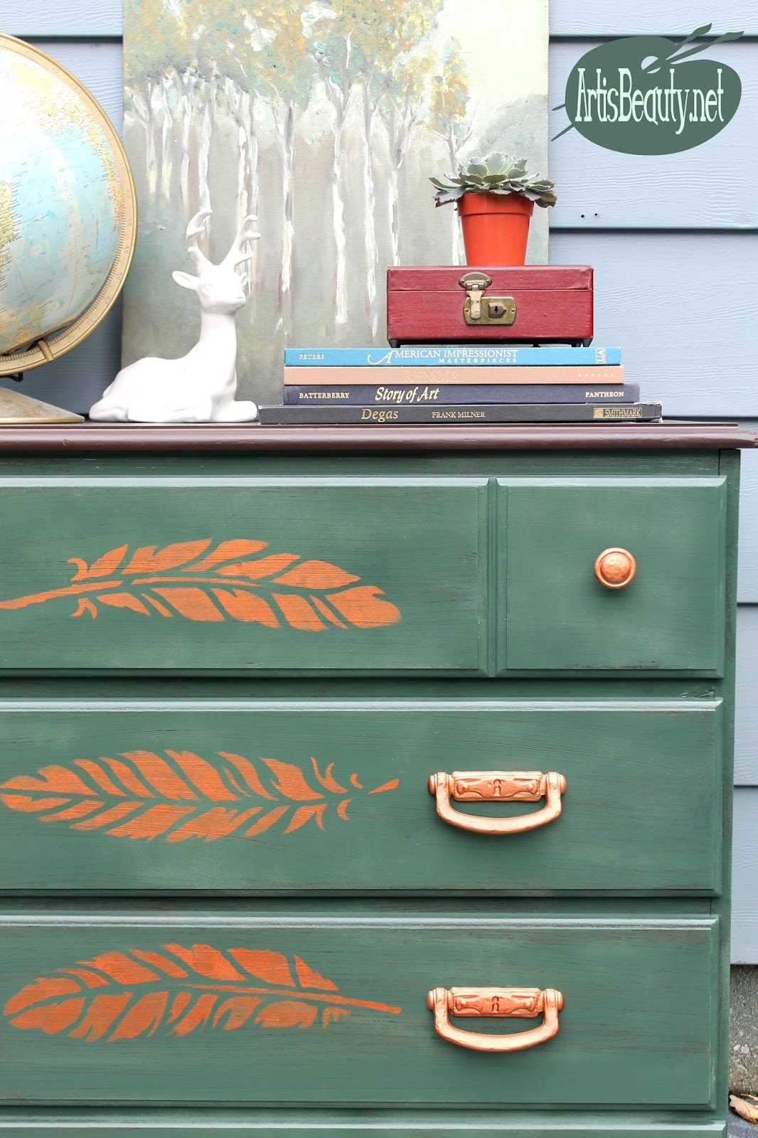 Copper Dresser Hardware
