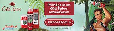 Everydayme Old Spice Terméktesztelés