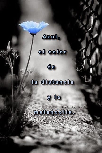 """¿Por qué me gusta el Azul? Picasso vio el azul como el color de la distancia y la melancolía. En su """"período azul"""" pintaba cuadros dominados por la soledad y la limitación. El azul es el color del cielo y del mar.  De todo el espectro de colores, el azul es el más """"frío"""": nuestra piel y labios se ponen azules con el frío, el hielo y la nieve tienen tonos azulados. Sin embargo la sangre se percibe como azul a través de la piel ¿Será por eso que en realidad también es cálido como yo? El azul simboliza la paz, la felicidad y la satisfacción. Representa un deseo de integración social, un deseo de pertenecer a algo o a alguien. La persona que prefiere prioritariamente el color azul, busca siempre un ambiente sereno y ordenado, si conflictos, siguiendo siempre modos de comportamiento mas o menos tradicionales. Es una persona a la que le gusta la franqueza y sinceridad y prefiere decir las cosas a la cara que andar a escondidas. Su lema bien podría ser el de  """"siempre con la verdad por delante"""", aunque a veces esa verdad pueda herir a alguien."""