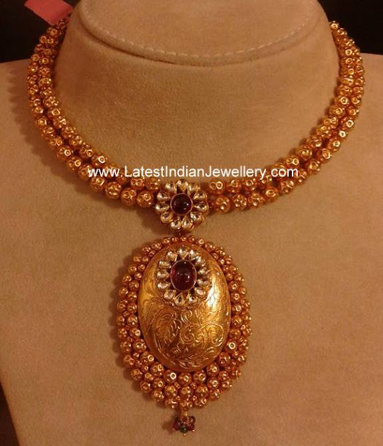 Simple Necklace from Malabar Gold