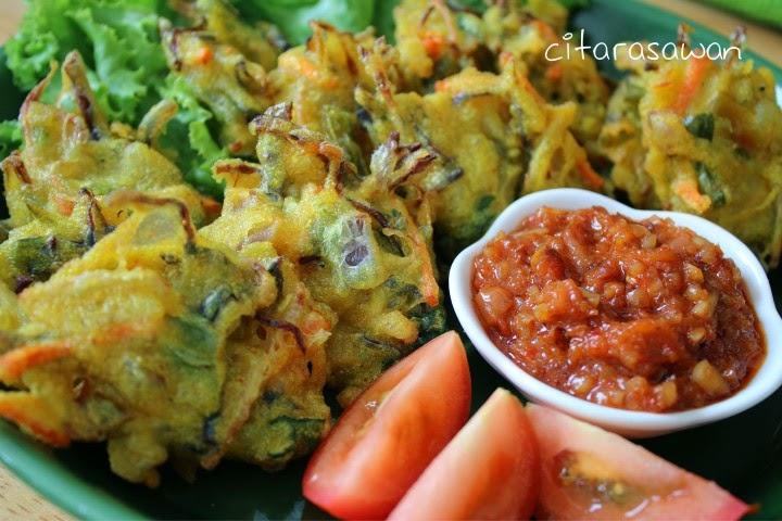 Bakwan / Cucur Sayur-sayuran ~ Resepi Terbaik