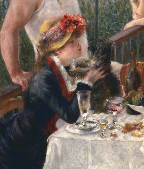 Almuerzo de remeros (detalle), 1881