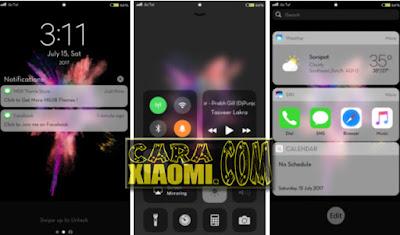 Link Download Tema MIUI IOS 10 V5 Versi Terbaru for Smartphone Xiaomi
