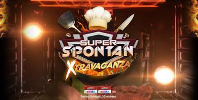 Super Spontan Xtravaganza 2018 - Senarai Peserta dan Hos Yang Terkini