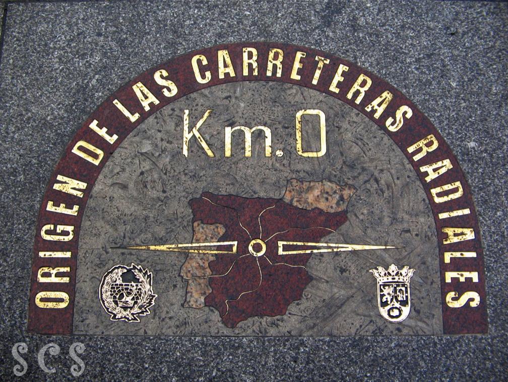 Puerta del sol madrid for Kilometro 0 puerta del sol