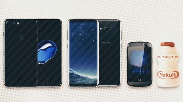 Perbandingan Bentuk Smartphone