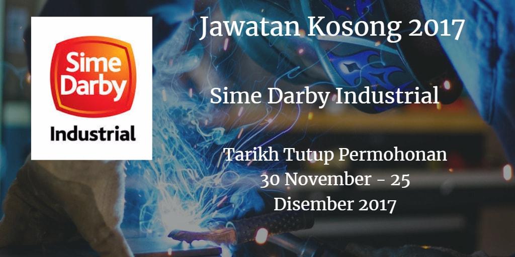 Jawatan Kosong Sime Darby Industrial 30 November - 25 Disember 2017