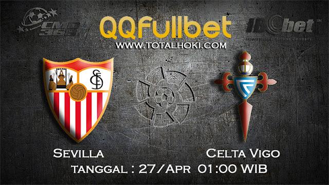 PREDIKSIBOLA - PREDIKSI TARUHAN SEVILLA VS CELTA VIGO 28 APRIL 2017 (LA LIGA SPANYOL)
