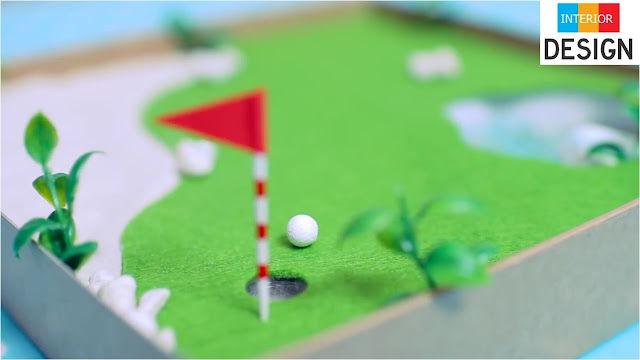 DIY Miniature Golf Zen Garden 60