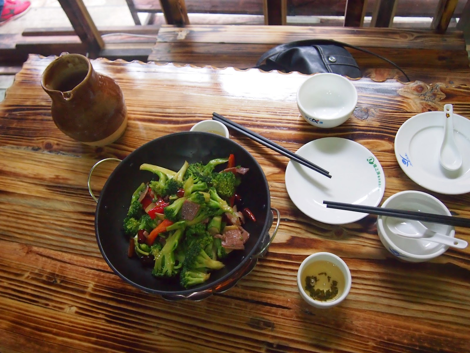 Yunnan broccoli dishes