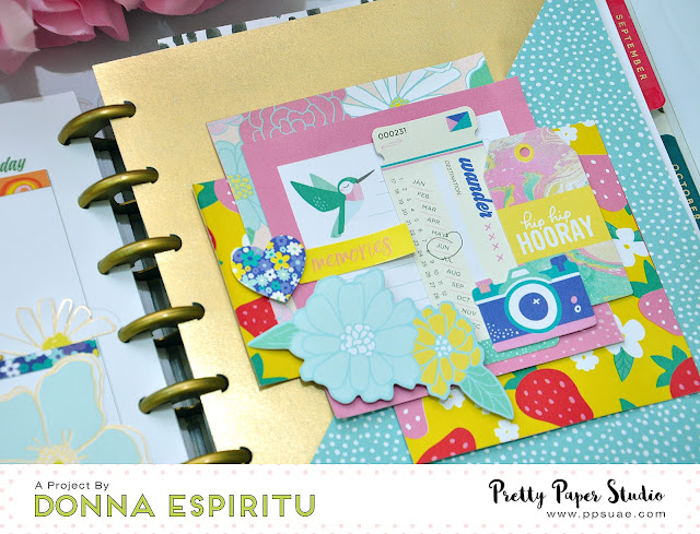 Pretty Paper Studio: Decorative Planner Spreads Using Scrapbook Supplies