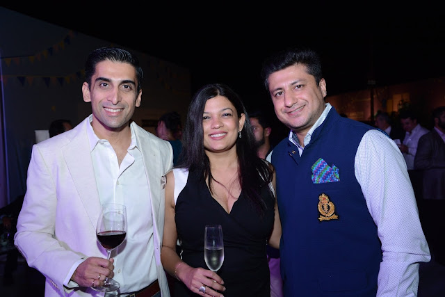 Ashish Dev Kapur, Meghana Kapur and Mohit Sawhney