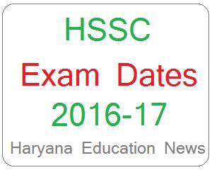 image : HSSCMandi Supervisor & Tracer Exam Schedule 2017 Advt. 7/2015 @ Haryana Education News