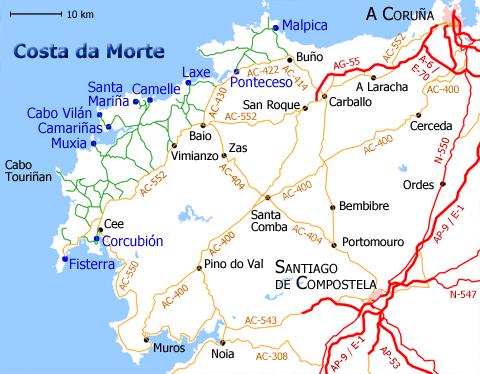 Im Pulso Costa Da Morte El Espejo De La Galicia Que Agoniza