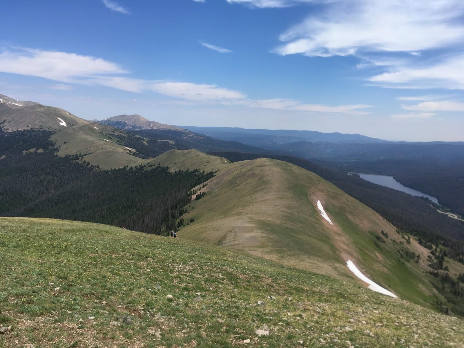 hiking rocky mountain national park july 2017