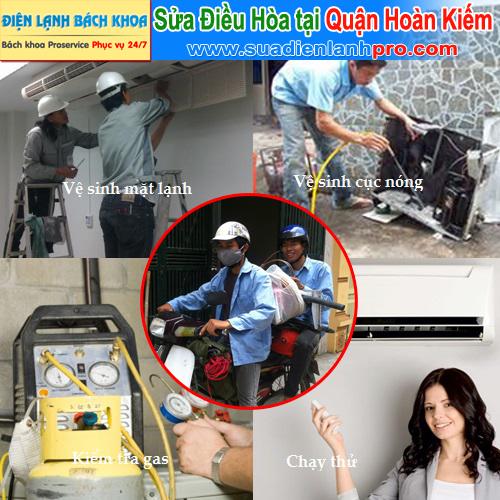 Sửa điều hòa tại nhà ở quận Hoàn Kiếm - Uy tín