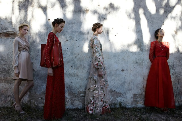 Preview: Valentino Spring/Summer 2012 Campaign