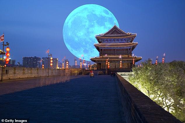 china, moon