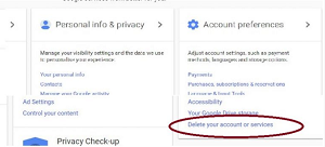 How to delete Gmail account permanently in English full Detail