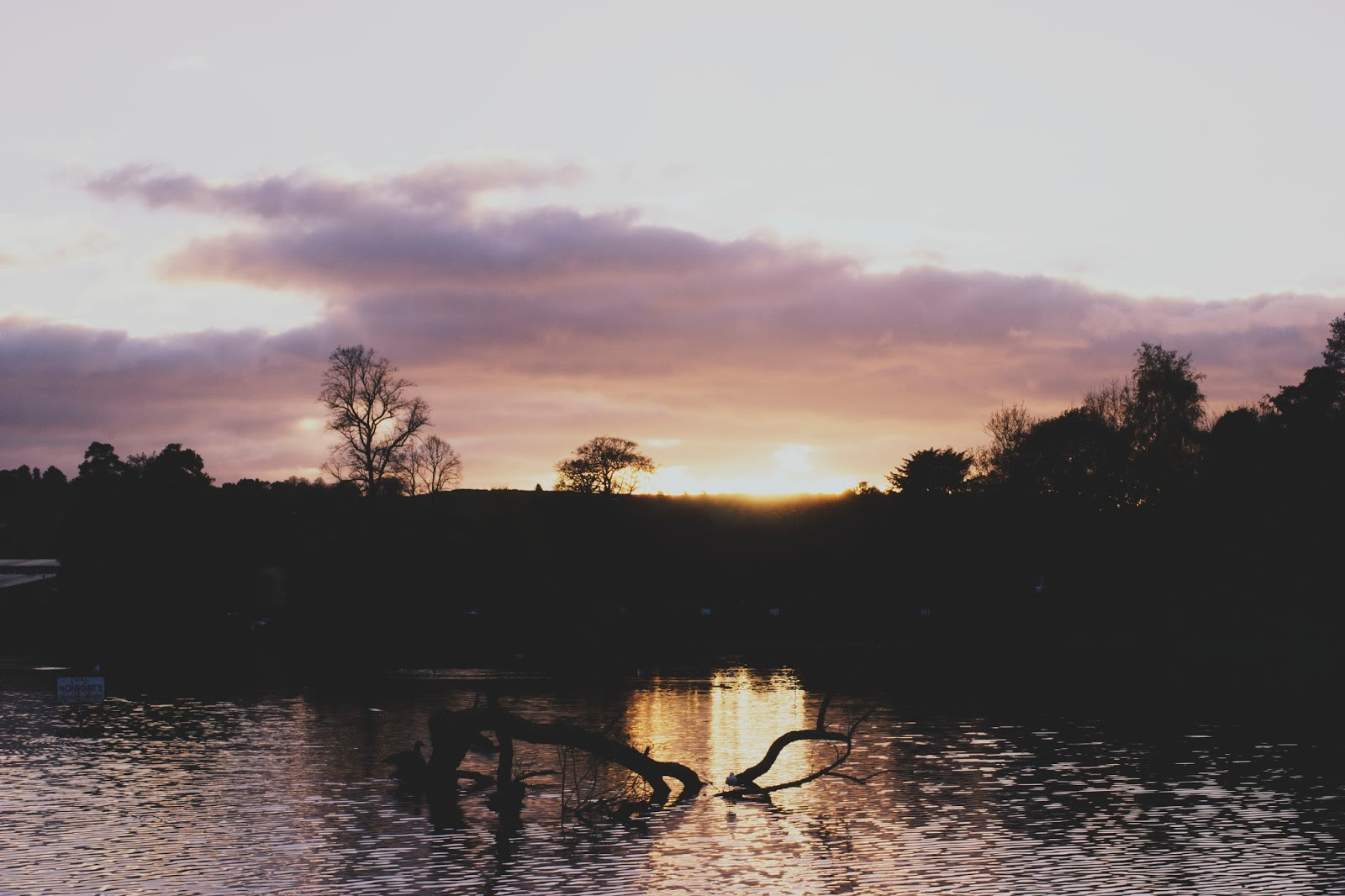 Sunset, Belper, Derbyshire, Belper River Gardens, Places to visit in Belper, Places to visit in Derbyshire, Katie Writes,