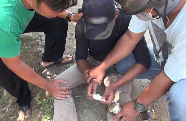 bandar narkoba di indramayu tertangkap tangan