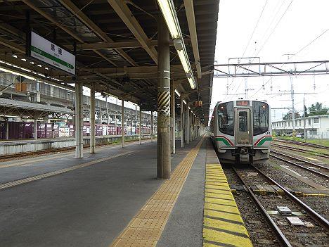 東北本線 ワンマン 郡山行き2 E721系(2017.10.13黒磯乗入廃止)