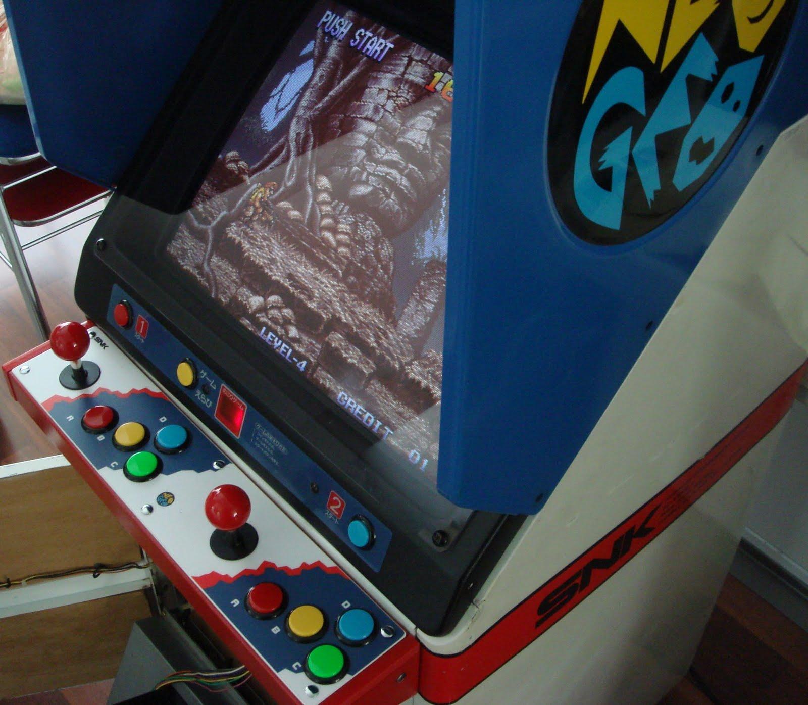 Neo Paradigm Studio: ARCADE4LIFE: *New Arrival* Neo Geo SNK SC19-4 Cabinet