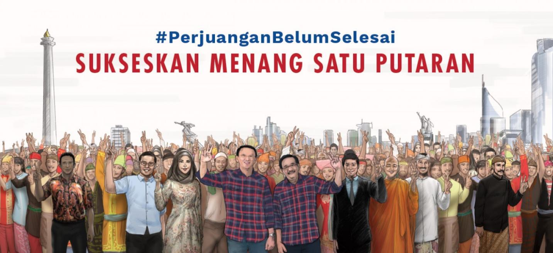 Hasil Quick Count Pilgub DKI Jakarta No2 Ahok Djarot 2017 Hasil
