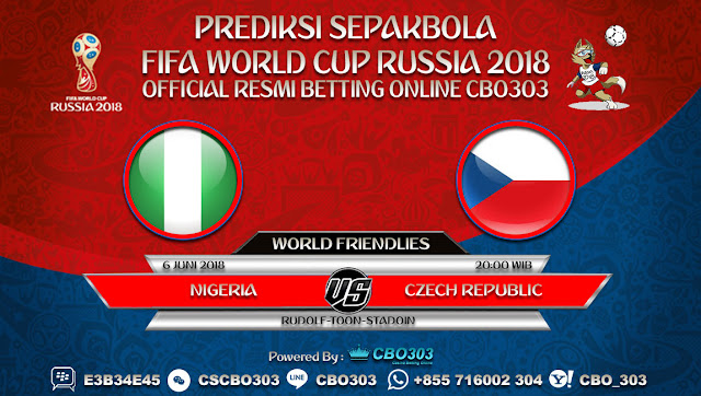 Prediksi Bola Nigeria VS Czech Republic 06 Juni 2018