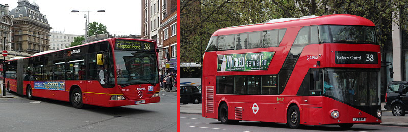 CLondoner92: The tale of the 'open boarding buses' (Bendy