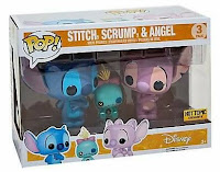 Funko Pop! Stitch, Scrump y Angel 3-pack