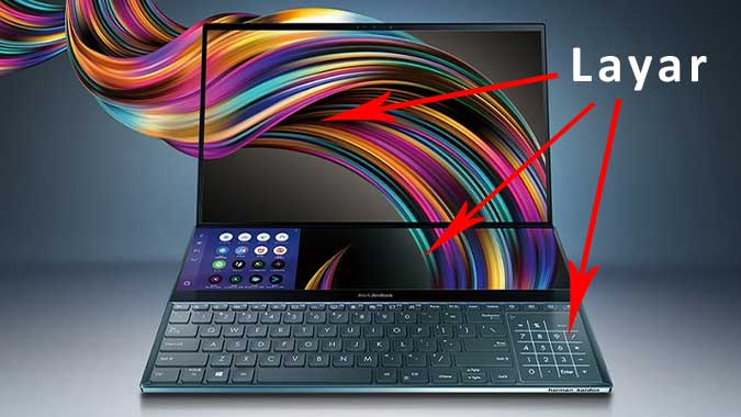 ZenBook Pro Duo, Laptop Layar Ganda dari Asus