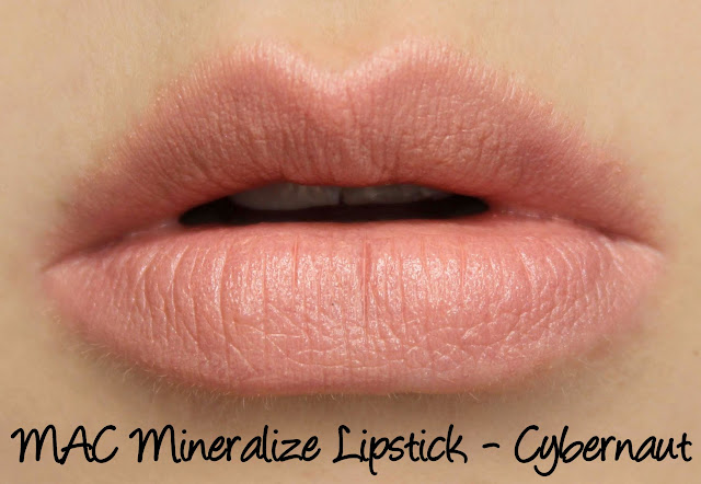 Future MAC - Cybernaut Mineralize Lipstick Swatches & Review