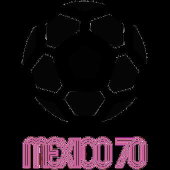 Logo Piala Dunia FIFA Tahun 1970 Meksiko