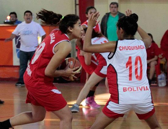 Plata para Tarija que no pudo con Sucre en basquet femenino JUDEJUT