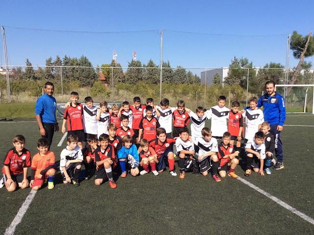 τα bambini της ακαδημίας ποδοσφαίρου Θεσσαλονίκης Παπάφης