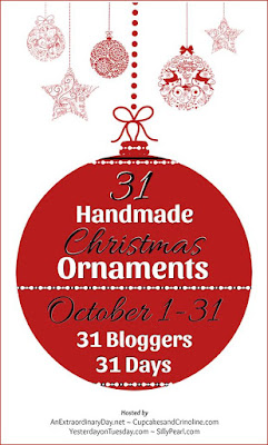31 Handmade Christmas Ornaments Blog Hop-From My Front Porch To Yours
