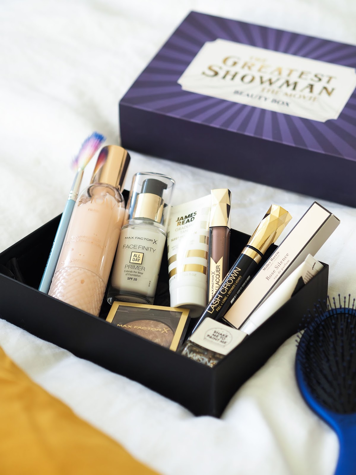 The Greatest Showman Latest In Beauty Box