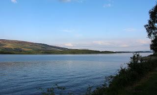 Loch Lomond on a lovely Saturday evening