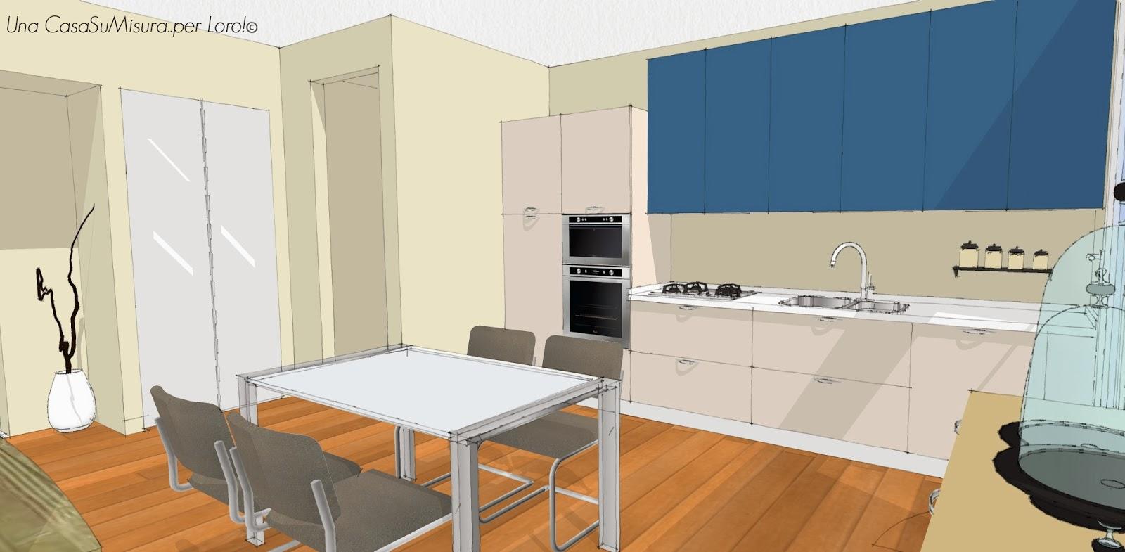 Cucina 3d | Progettare Cucina In 3d Trendy Aprire Idee Armadi Cucina D