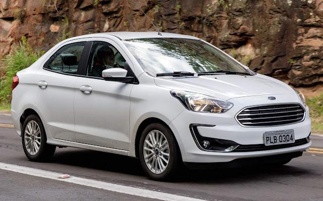 Carros e marcas mais vendidos - 1ª quinzena de abril / 2019