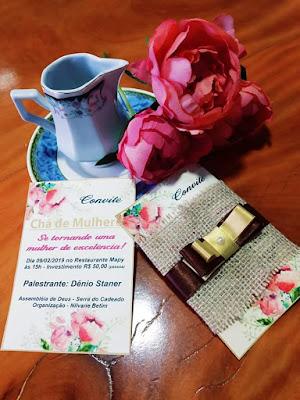 Mauá da Serra-Vem aí o 1º chá de mulheres da Assembléia de Deus da Serra do Cadeado
