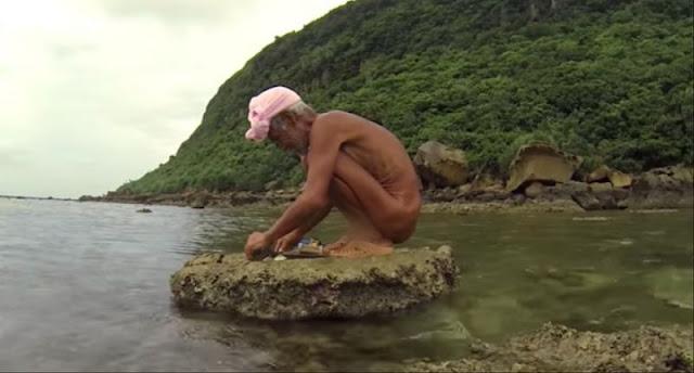 Japones que vivia isolado em ilha