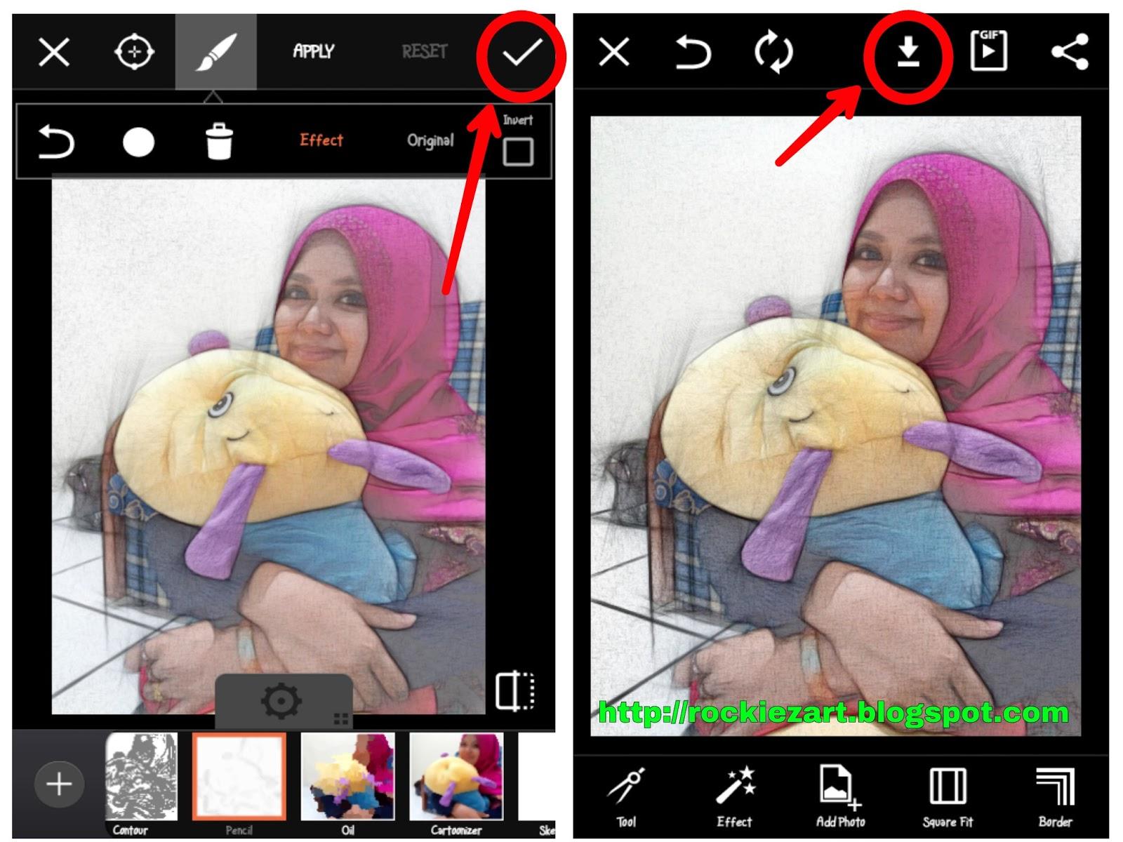 Cara Edit Membuat Foto Keren Di HP Android Bergaya ...