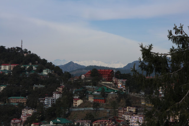 Shimla, Himachal Pradesh, Skywatch, skywatching, India, Himlayas, Himalayan Peak, Snow capped Himalaya, Mall Road,