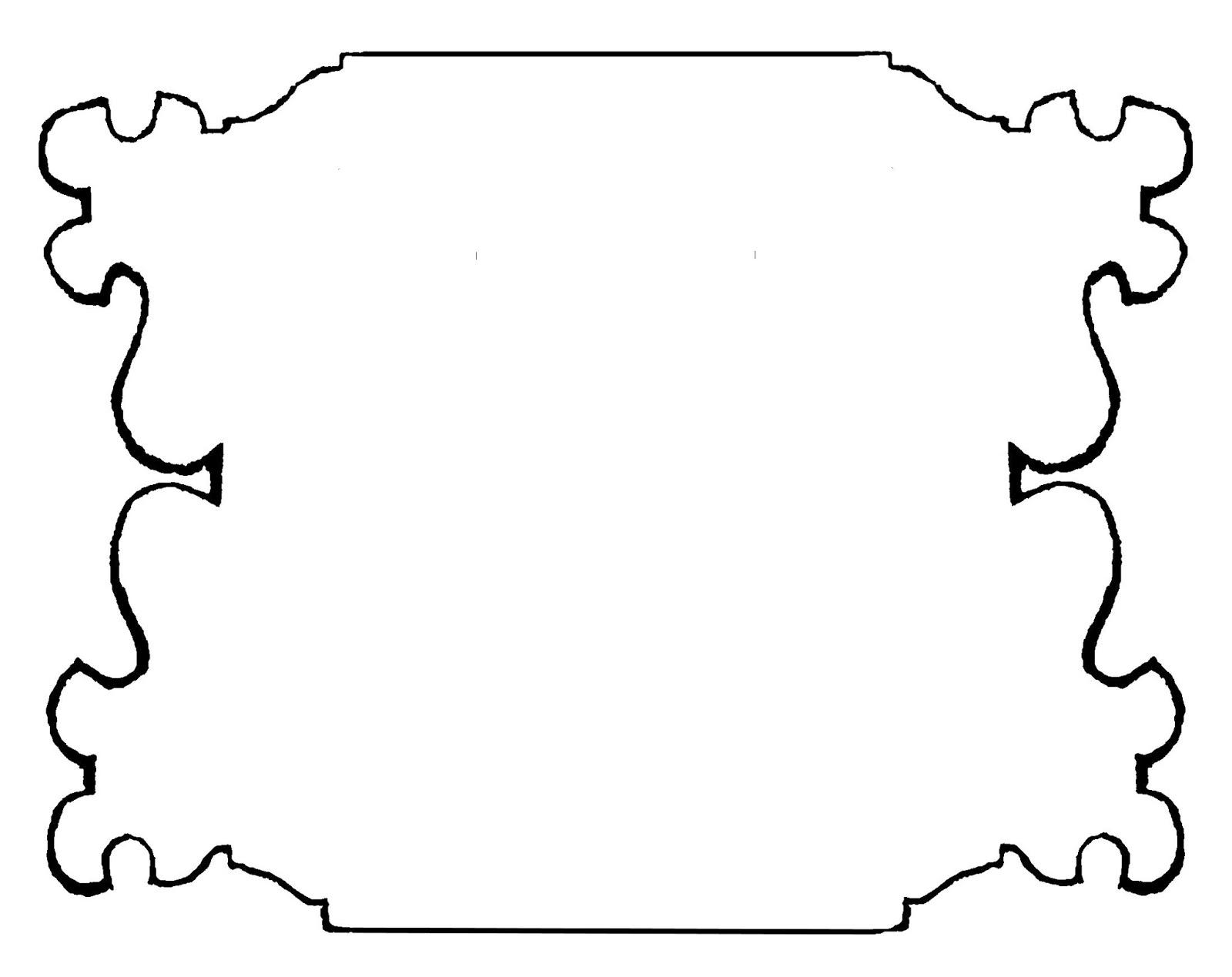 Digital Stamp Design Royalty Free Hand Drawn Frames