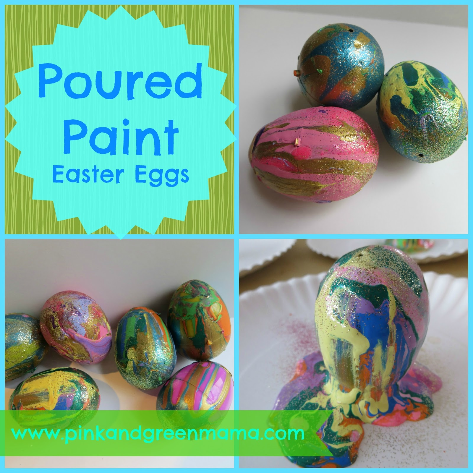 Easy Way To Decorate Easter Eggs