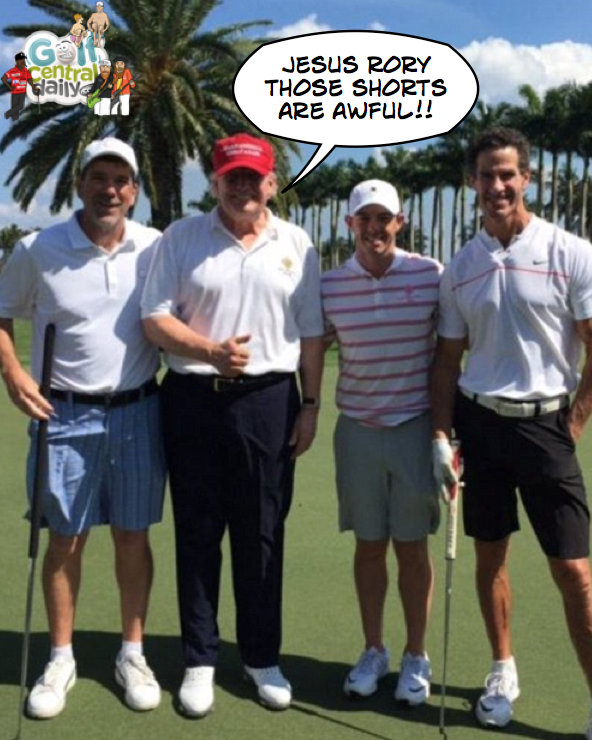 Rory McIlroy Donald Trump Funny